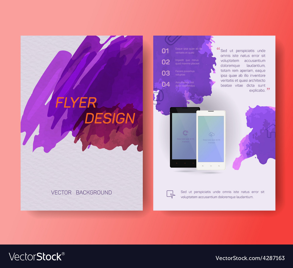 Booklet cellular phone mobile phone magazine vector | Price: 1 Credit (USD $1)