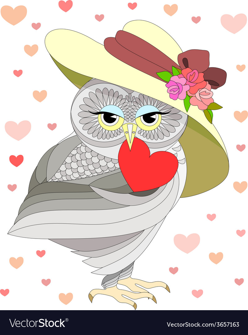 Love the owl vector | Price: 1 Credit (USD $1)