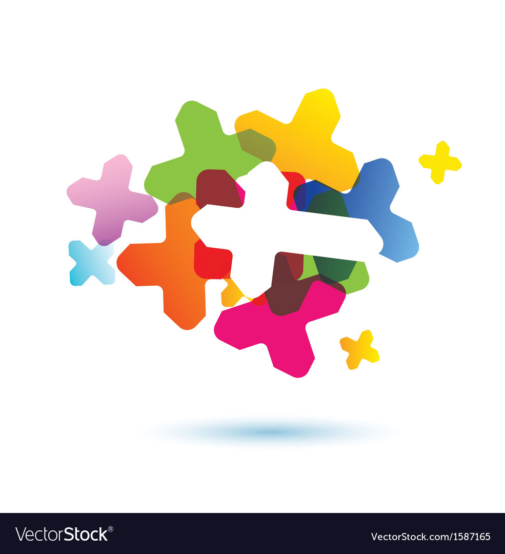 Abstract human brain icon vector   Price: 1 Credit (USD $1)