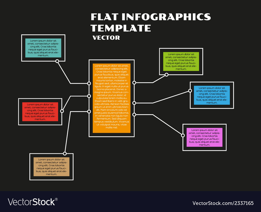 Black infographics vector | Price: 1 Credit (USD $1)