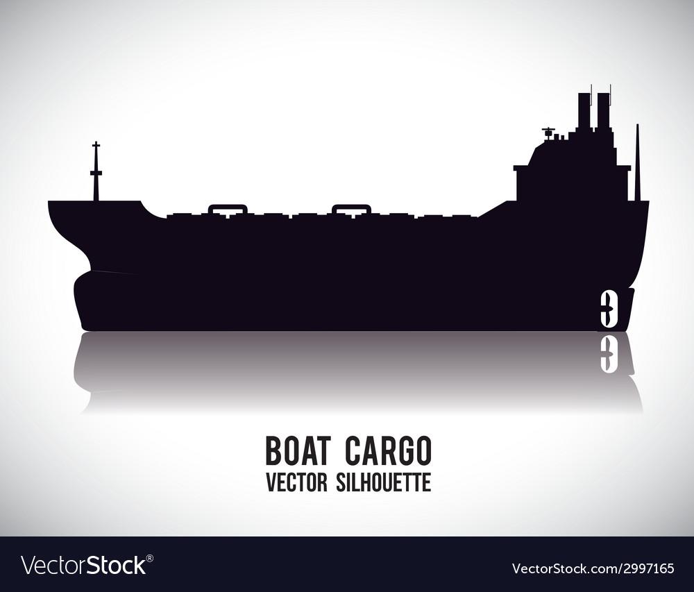 Boat design vector | Price: 1 Credit (USD $1)