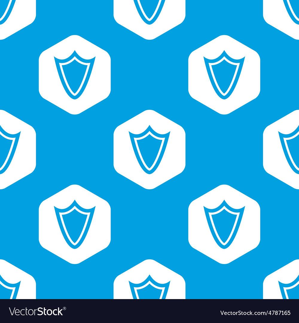 Shield hexagon pattern vector | Price: 1 Credit (USD $1)