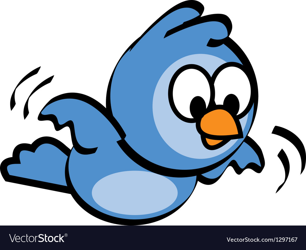 Flying bluebird vector   Price: 1 Credit (USD $1)