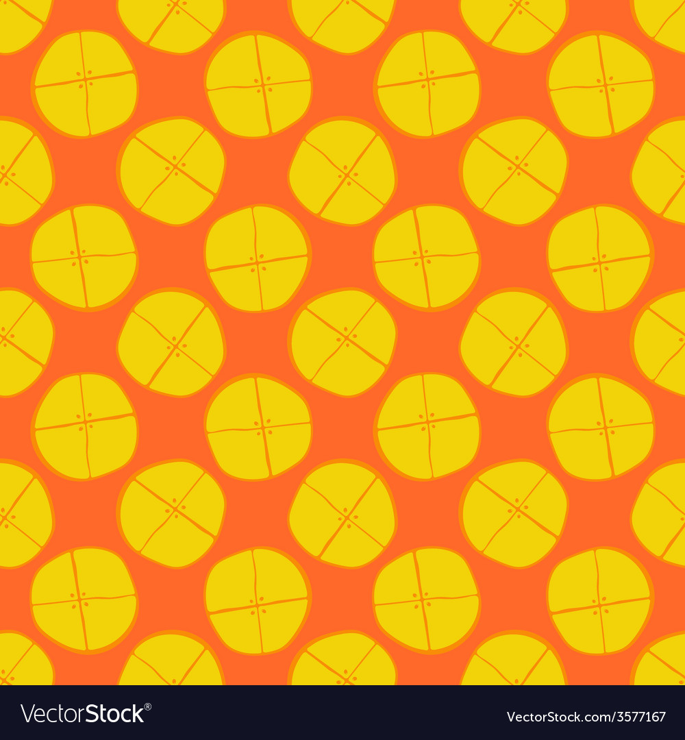 Lemon seamless pattern - fruit texture vector | Price: 1 Credit (USD $1)