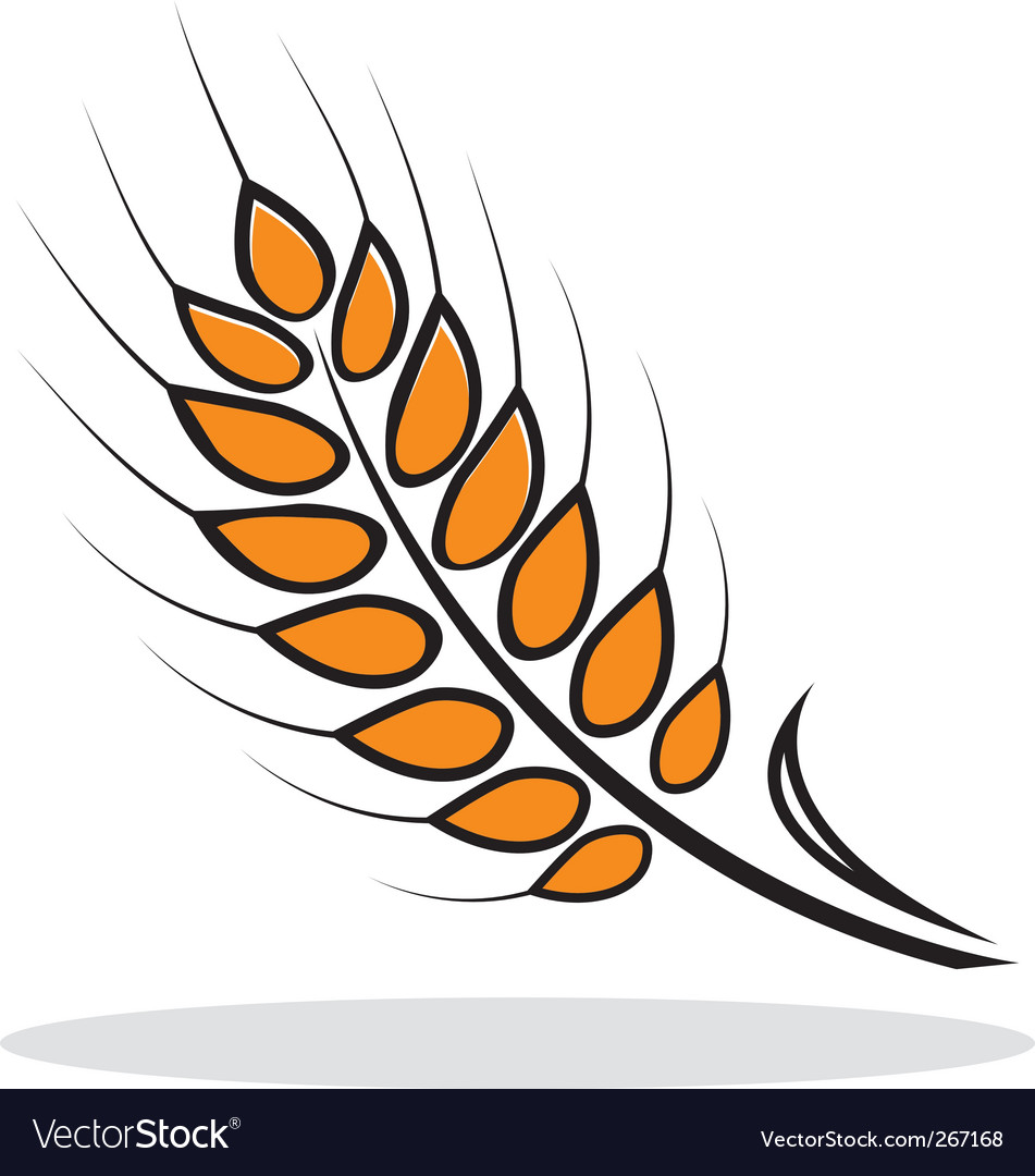 Abstract wheat vector | Price: 1 Credit (USD $1)