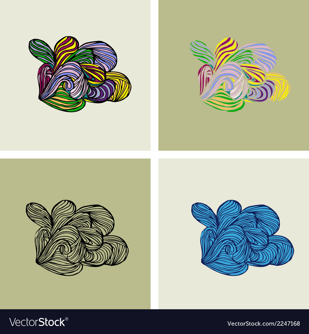 Floral element2 vector | Price: 1 Credit (USD $1)