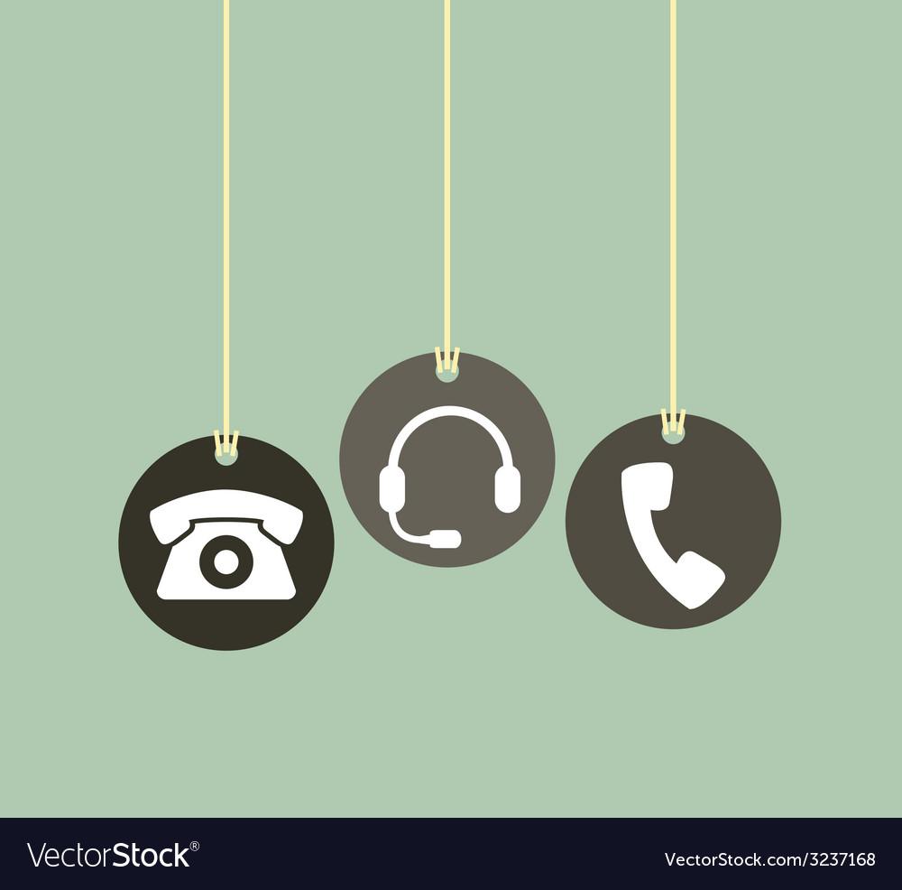 Phone design vector | Price: 1 Credit (USD $1)