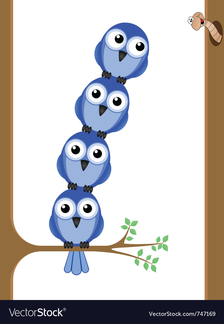 Bird teamwork vector | Price: 1 Credit (USD $1)