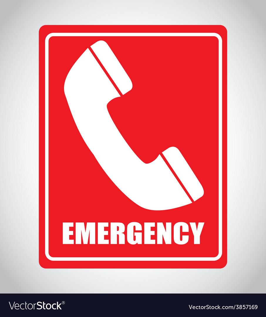Emergency signal vector | Price: 1 Credit (USD $1)