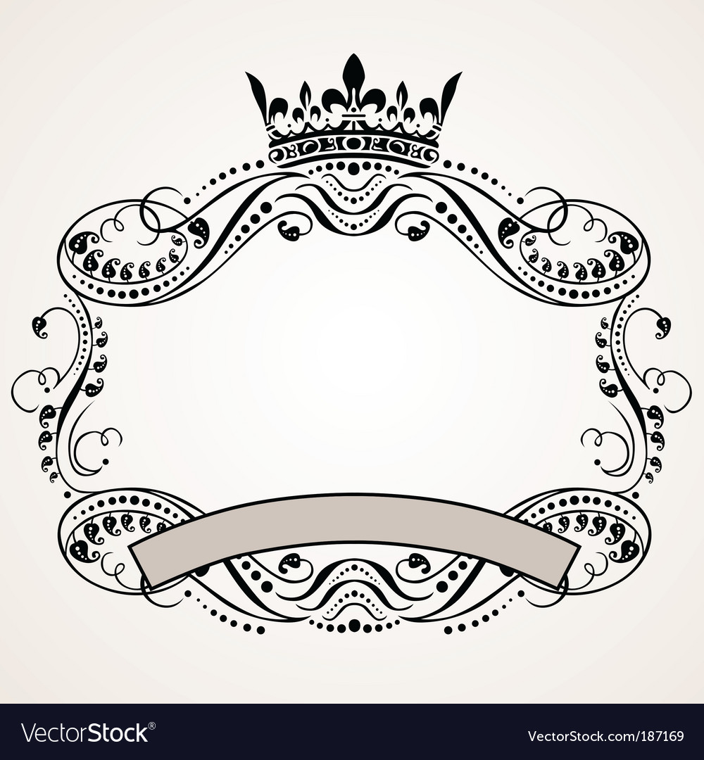 Ornament border vector | Price: 1 Credit (USD $1)