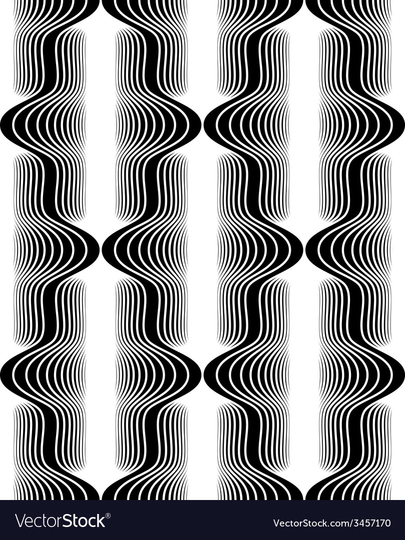 Vintage style black and white seamless pattern vector | Price: 1 Credit (USD $1)