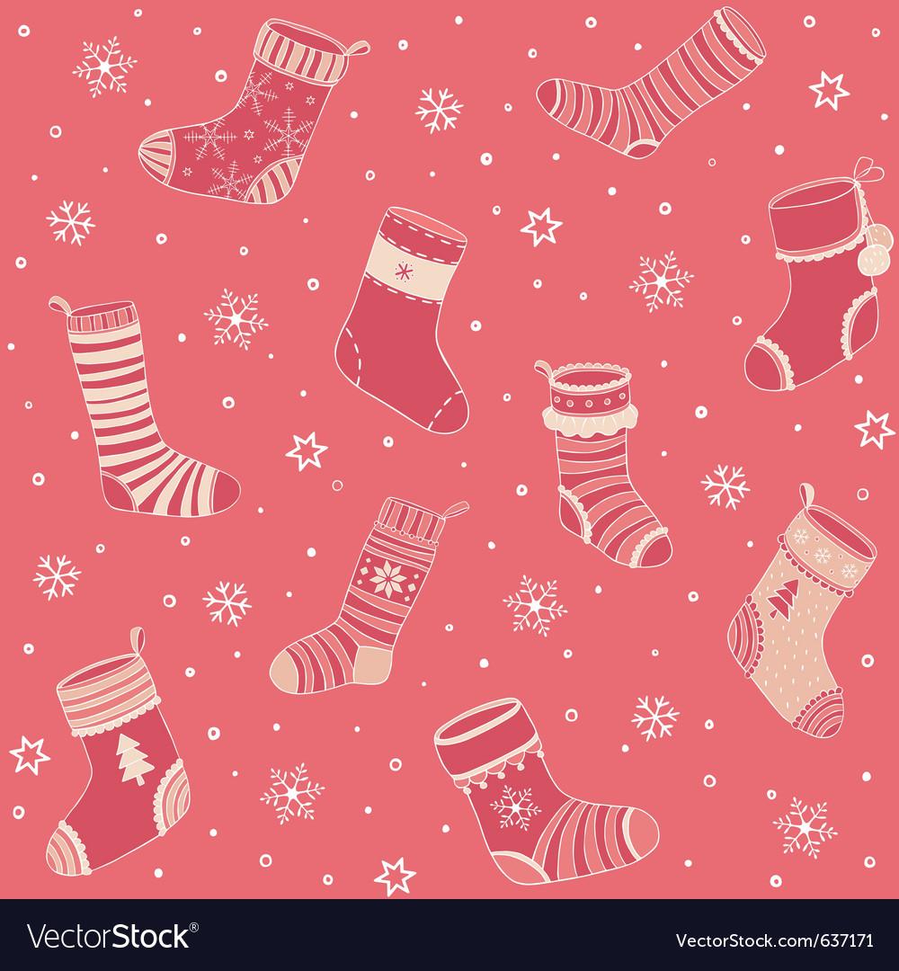 Christmas socks vector   Price: 1 Credit (USD $1)