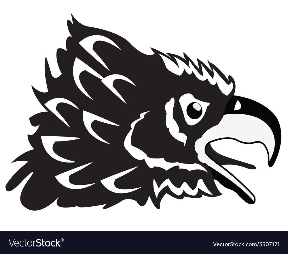 Drawing of the head hollered vector | Price: 1 Credit (USD $1)