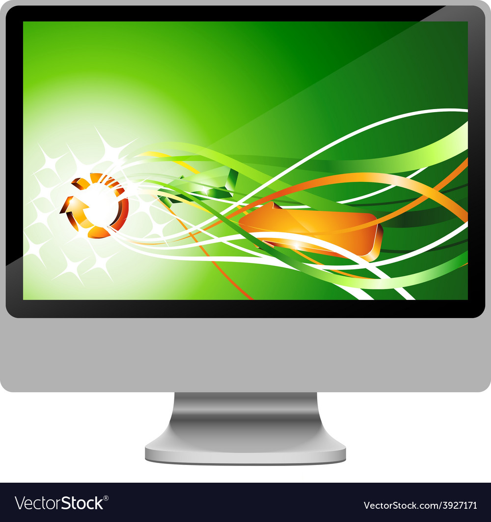 Lcd vector | Price: 1 Credit (USD $1)