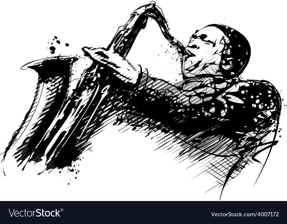 Jazzman vector | Price: 3 Credit (USD $3)