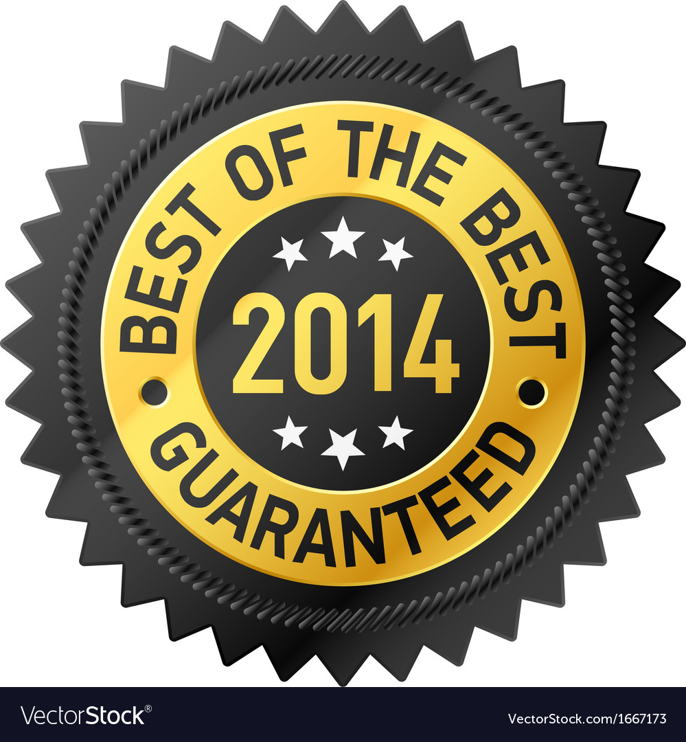 Best of the best 2014 label vector | Price: 1 Credit (USD $1)