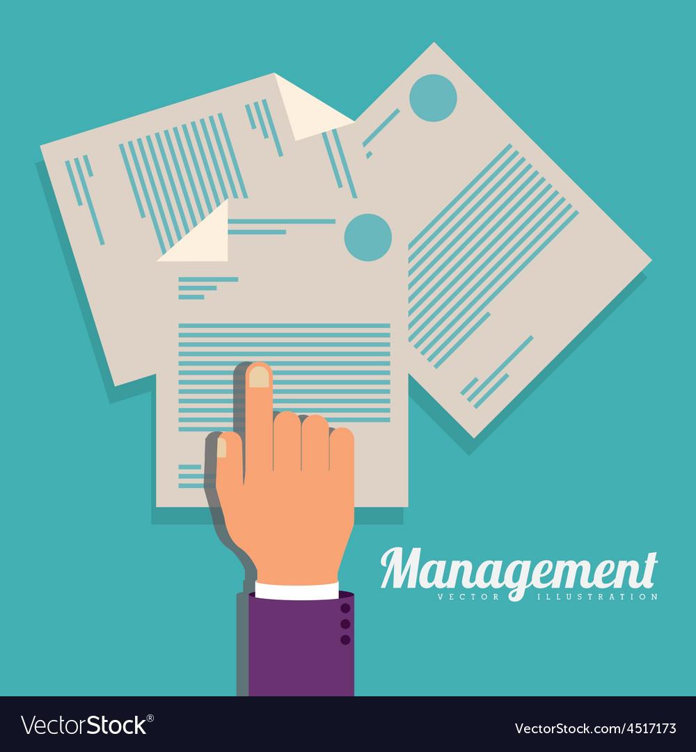 Management design vector | Price: 1 Credit (USD $1)