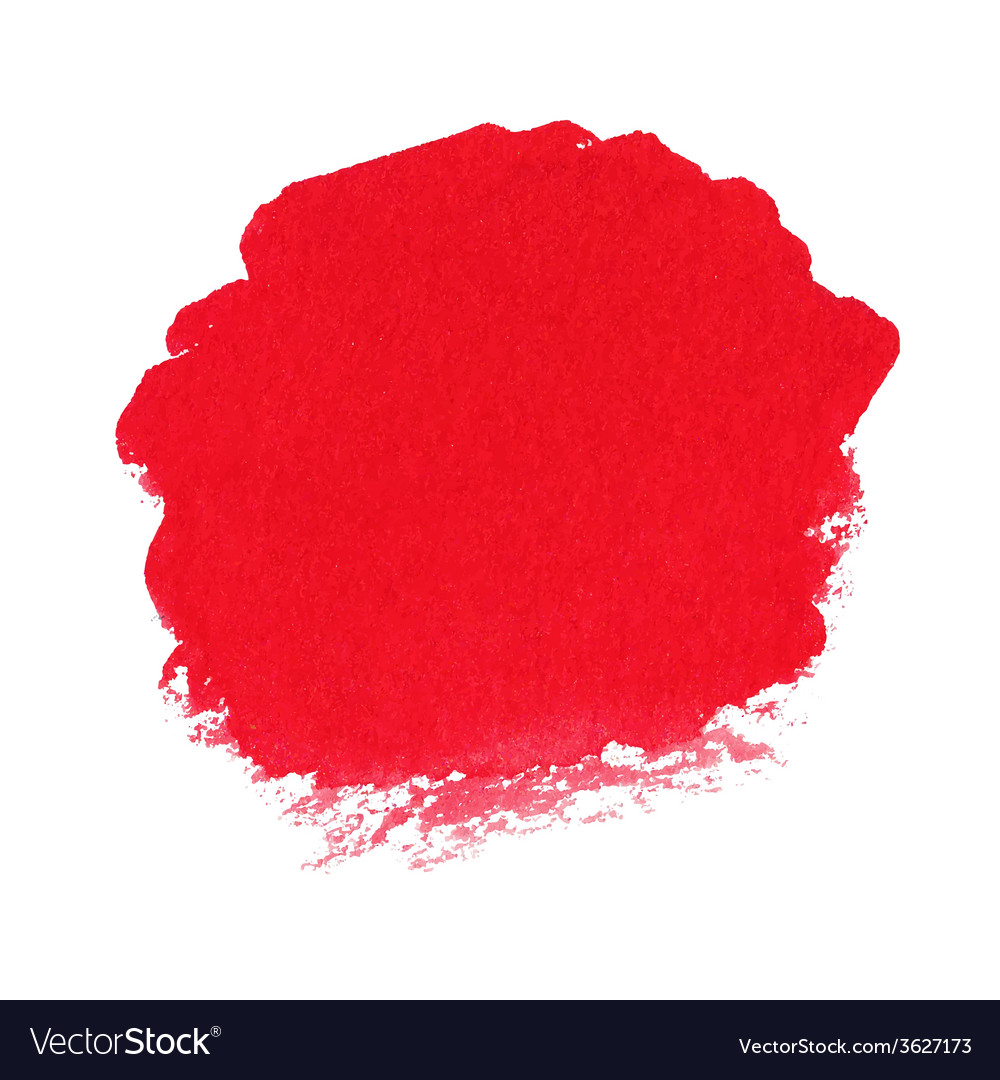 Red watercolor spot vector | Price: 1 Credit (USD $1)