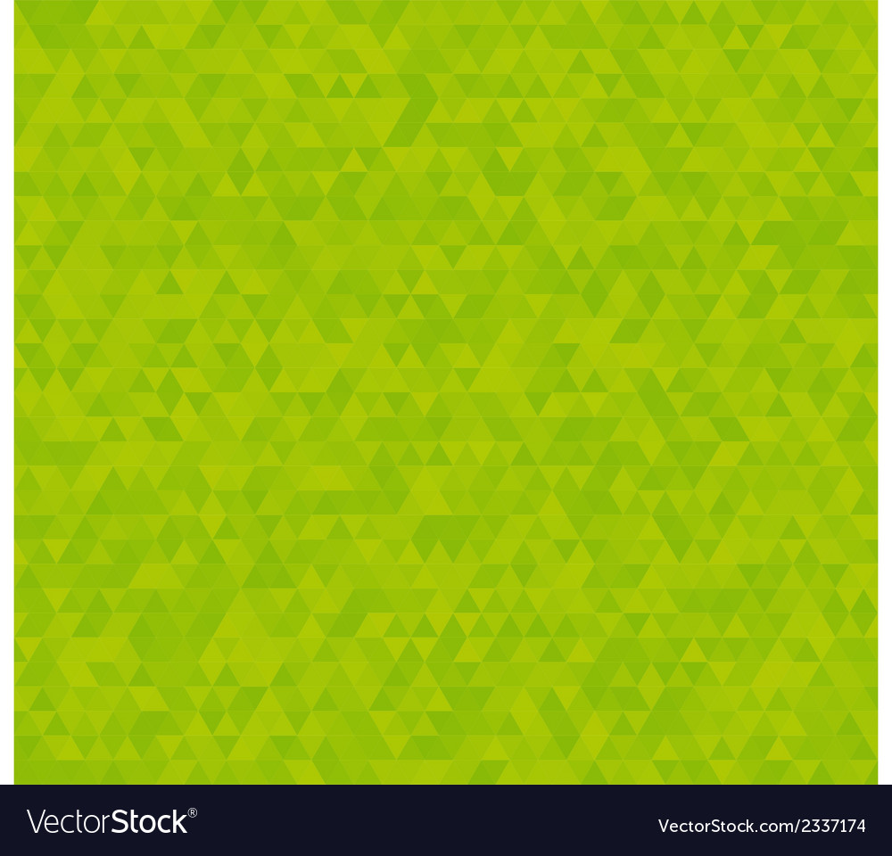 Background with green triangles vector | Price: 1 Credit (USD $1)
