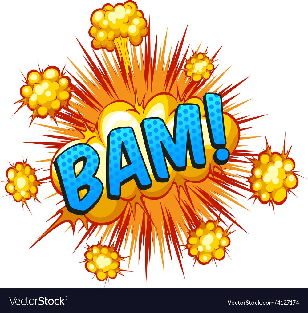Bam vector   Price: 1 Credit (USD $1)
