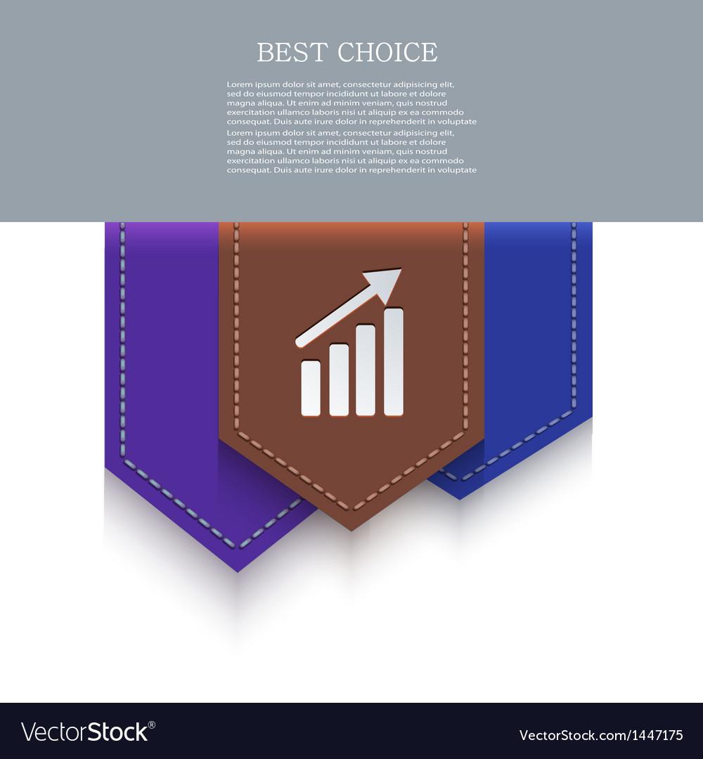 Bookmark icon eps10 vector   Price: 1 Credit (USD $1)