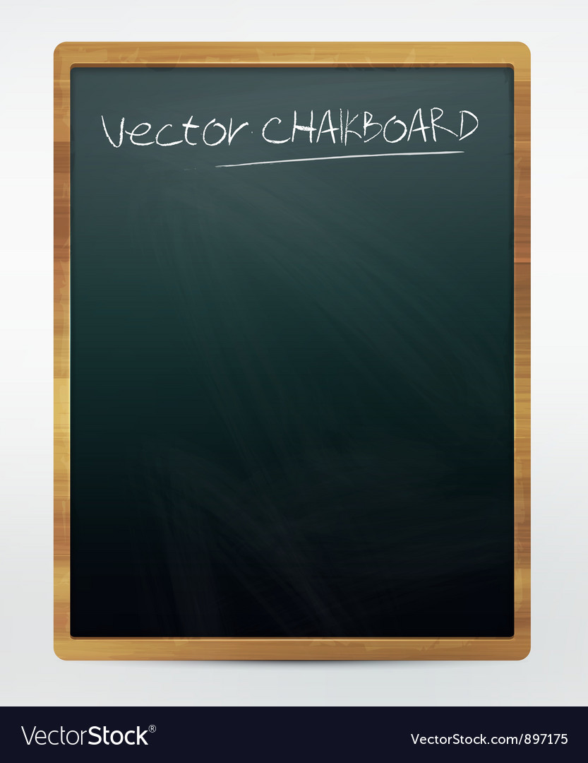 Chalkboard vector | Price: 1 Credit (USD $1)