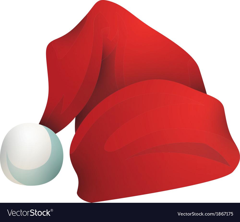 Hat santa claus vector | Price: 1 Credit (USD $1)