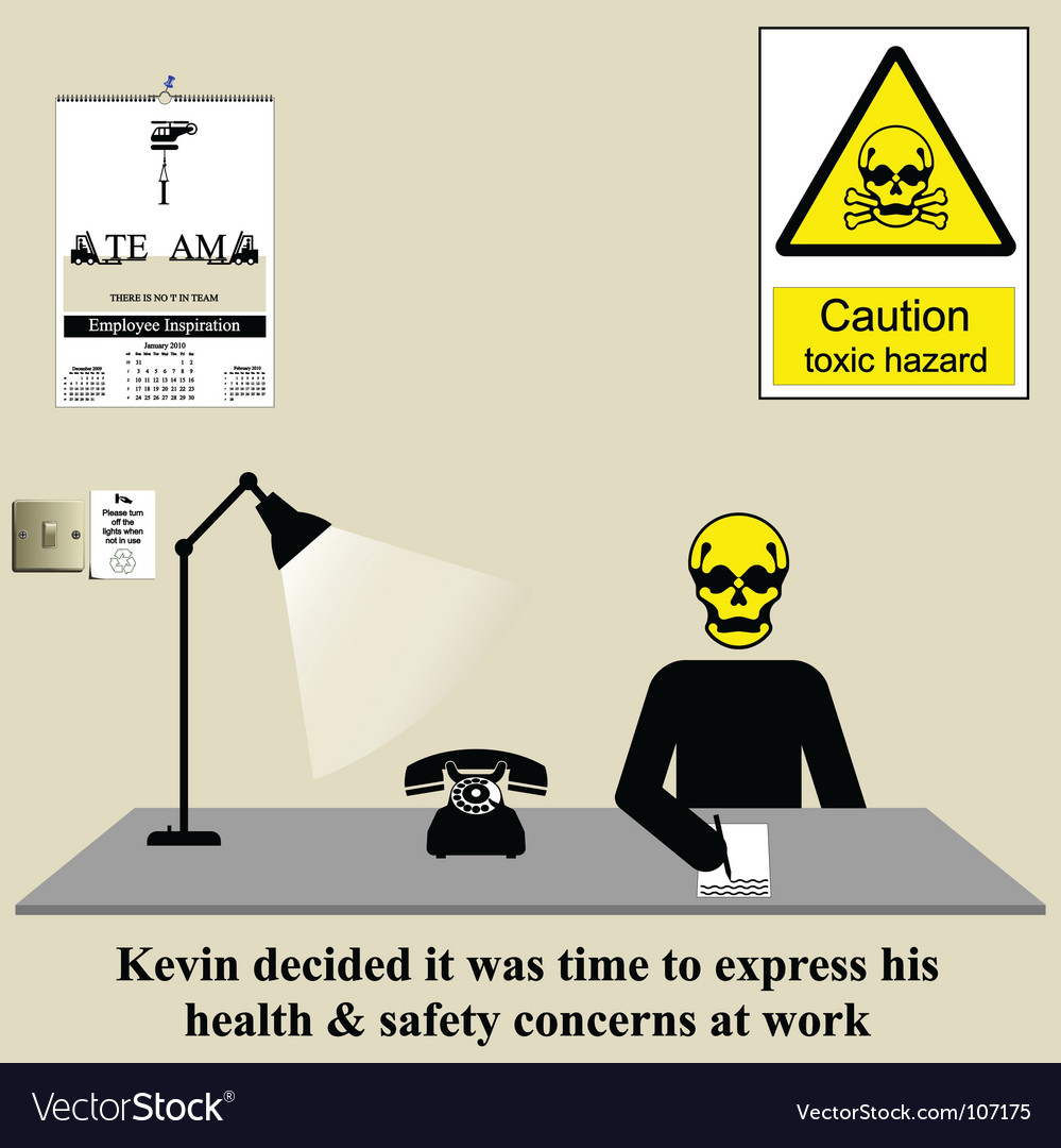Health safety issue vector | Price: 1 Credit (USD $1)