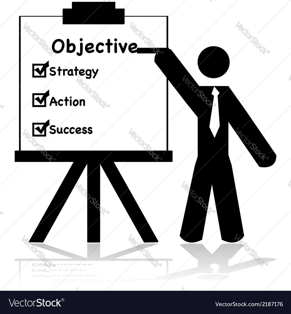 Business objectives vector | Price: 1 Credit (USD $1)