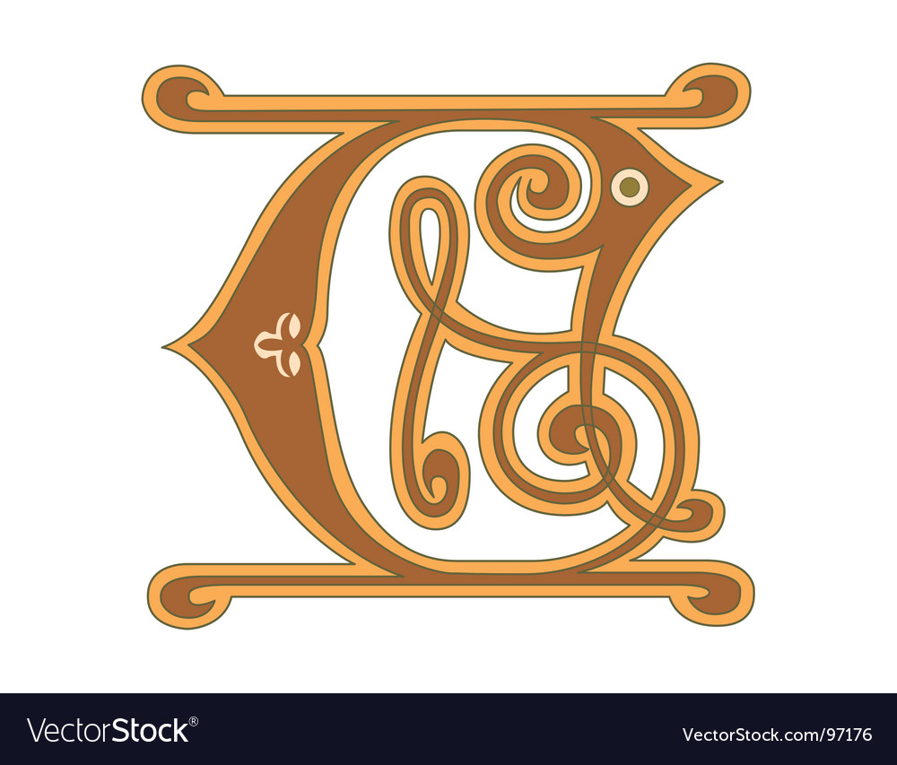 Golden letter c vector | Price: 1 Credit (USD $1)