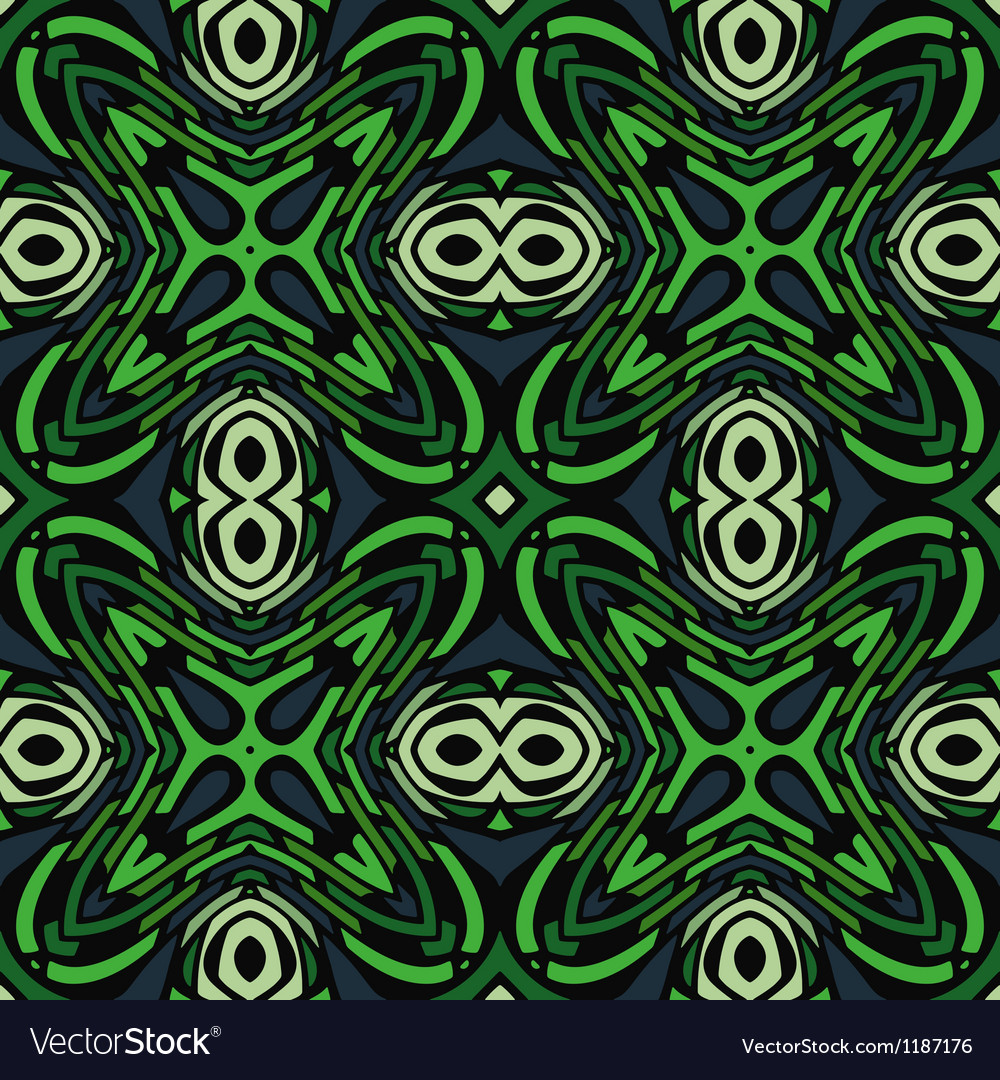 Jungle abstract seamless pattern vector | Price: 1 Credit (USD $1)