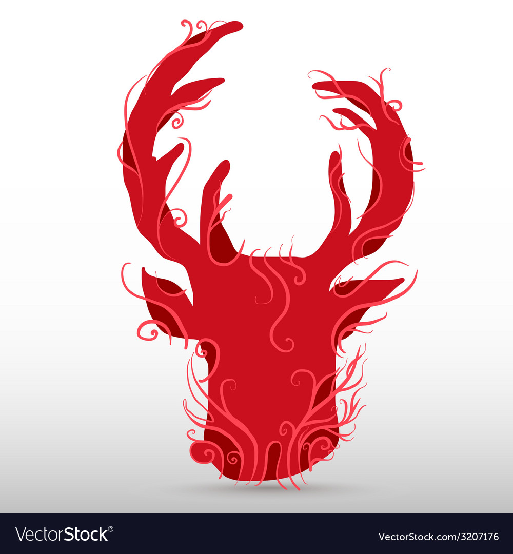 Reddeer vector | Price: 1 Credit (USD $1)