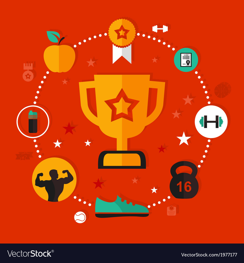 Award sports vector | Price: 1 Credit (USD $1)
