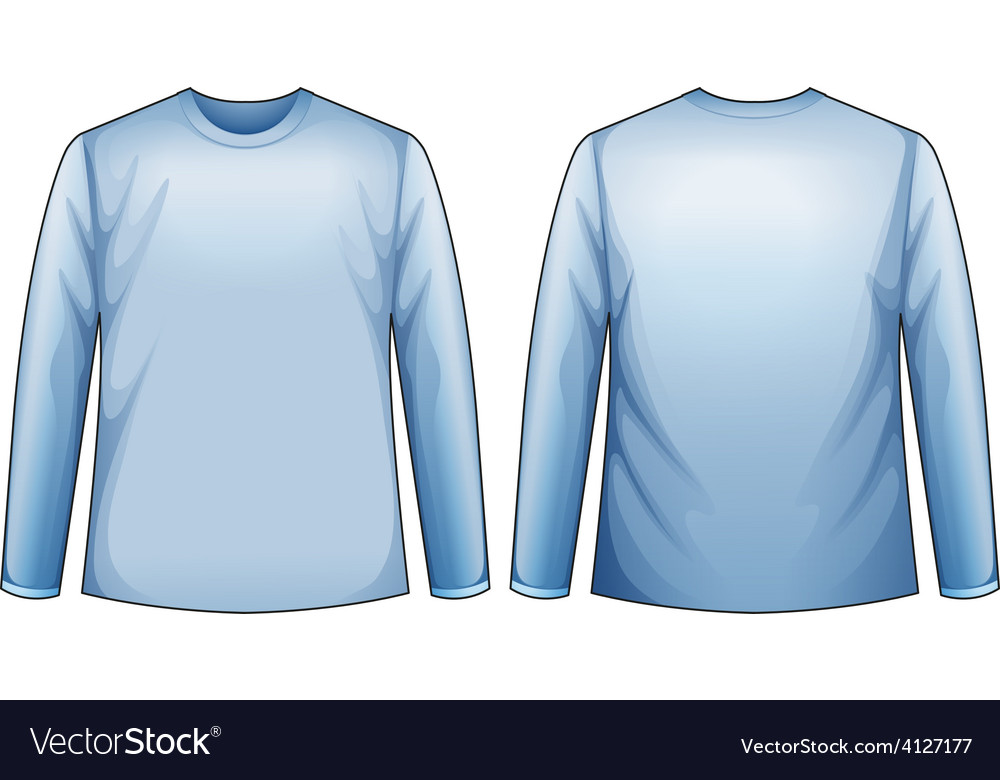 Blue shirt vector | Price: 1 Credit (USD $1)