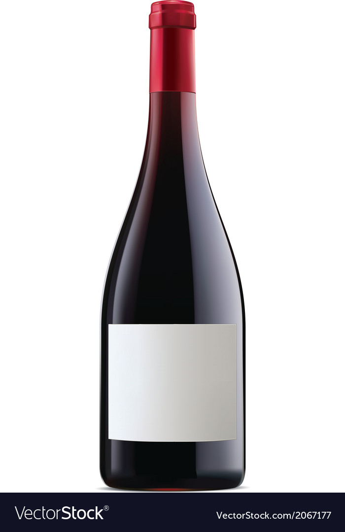 Burgundy red wine vector | Price: 1 Credit (USD $1)