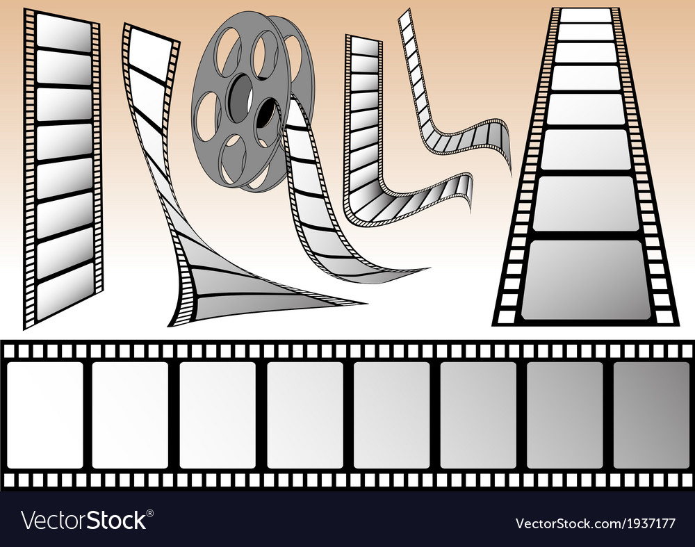 Cinema elements vector   Price: 1 Credit (USD $1)