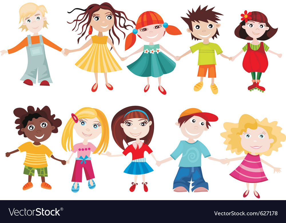 Children set vector | Price: 3 Credit (USD $3)