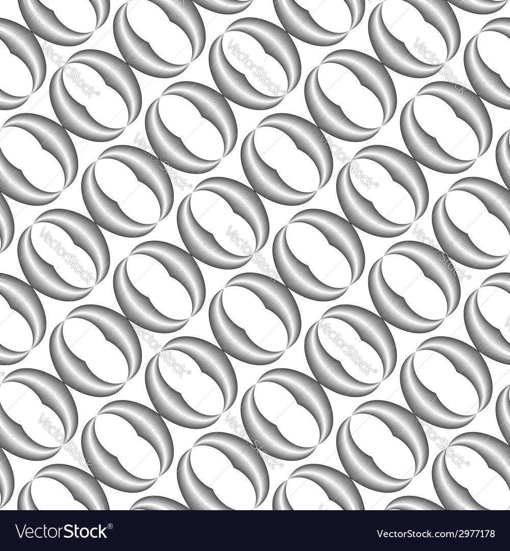 Design seamless monochrome grid pattern vector | Price: 1 Credit (USD $1)