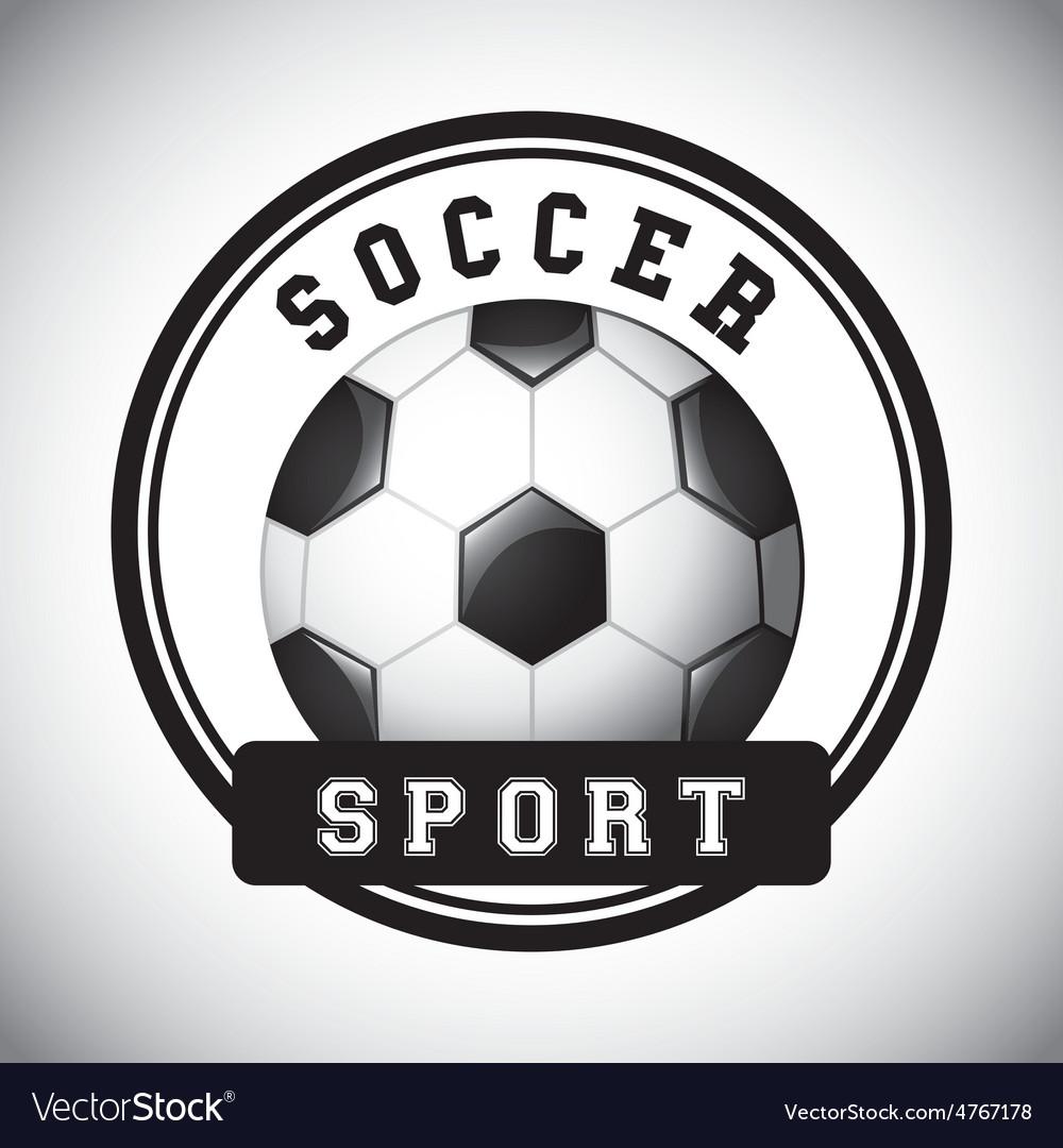 Football soccer vector | Price: 1 Credit (USD $1)