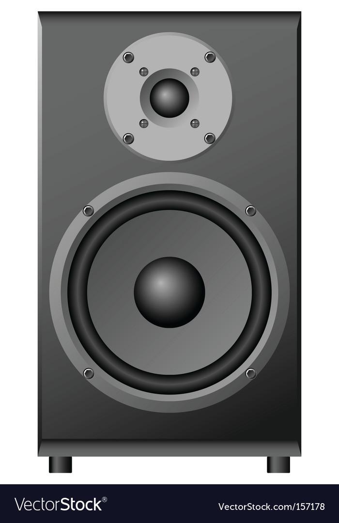 Illustration of a loudspeaker vector | Price: 1 Credit (USD $1)