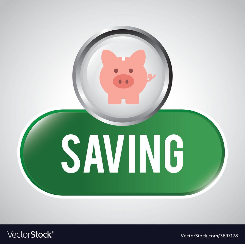 Save money vector | Price: 1 Credit (USD $1)