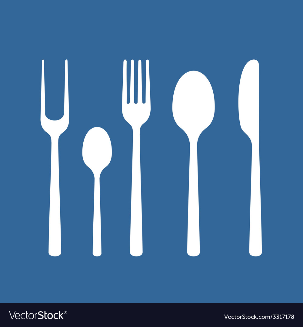 Set of cutlery vector | Price: 1 Credit (USD $1)