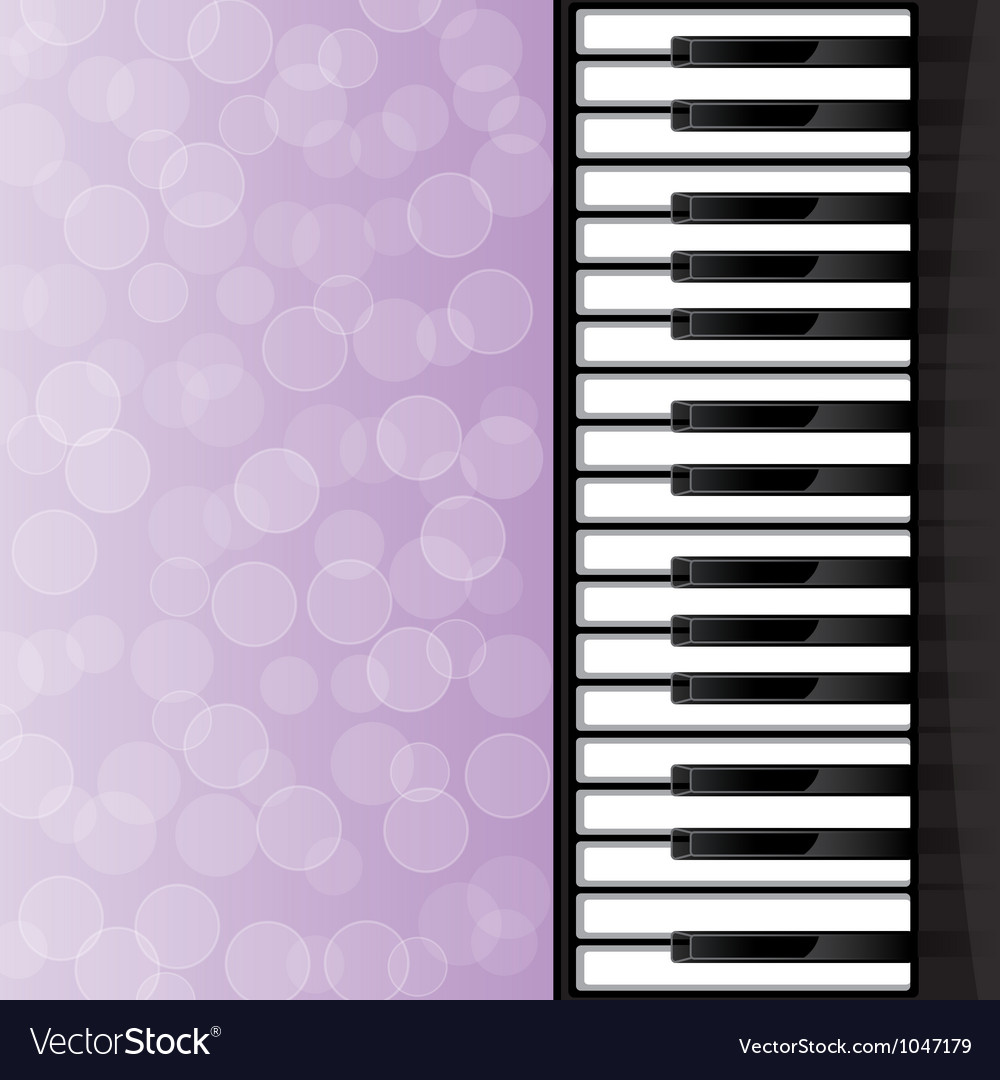 Abstract background with piano keys vector | Price: 1 Credit (USD $1)