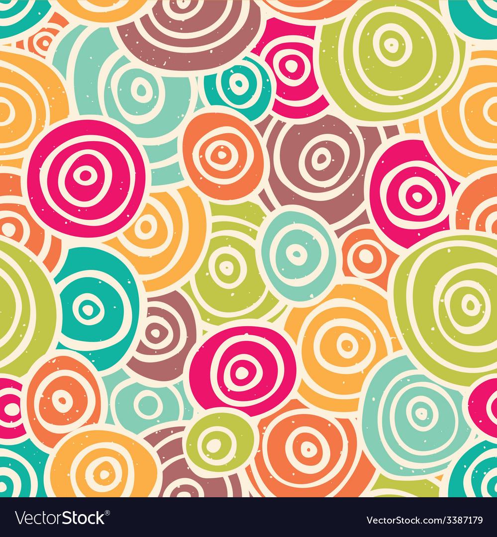 Cute retro pattern vector | Price: 1 Credit (USD $1)