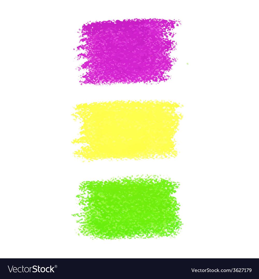 Mardi gras pastel crayon spots vector | Price: 1 Credit (USD $1)