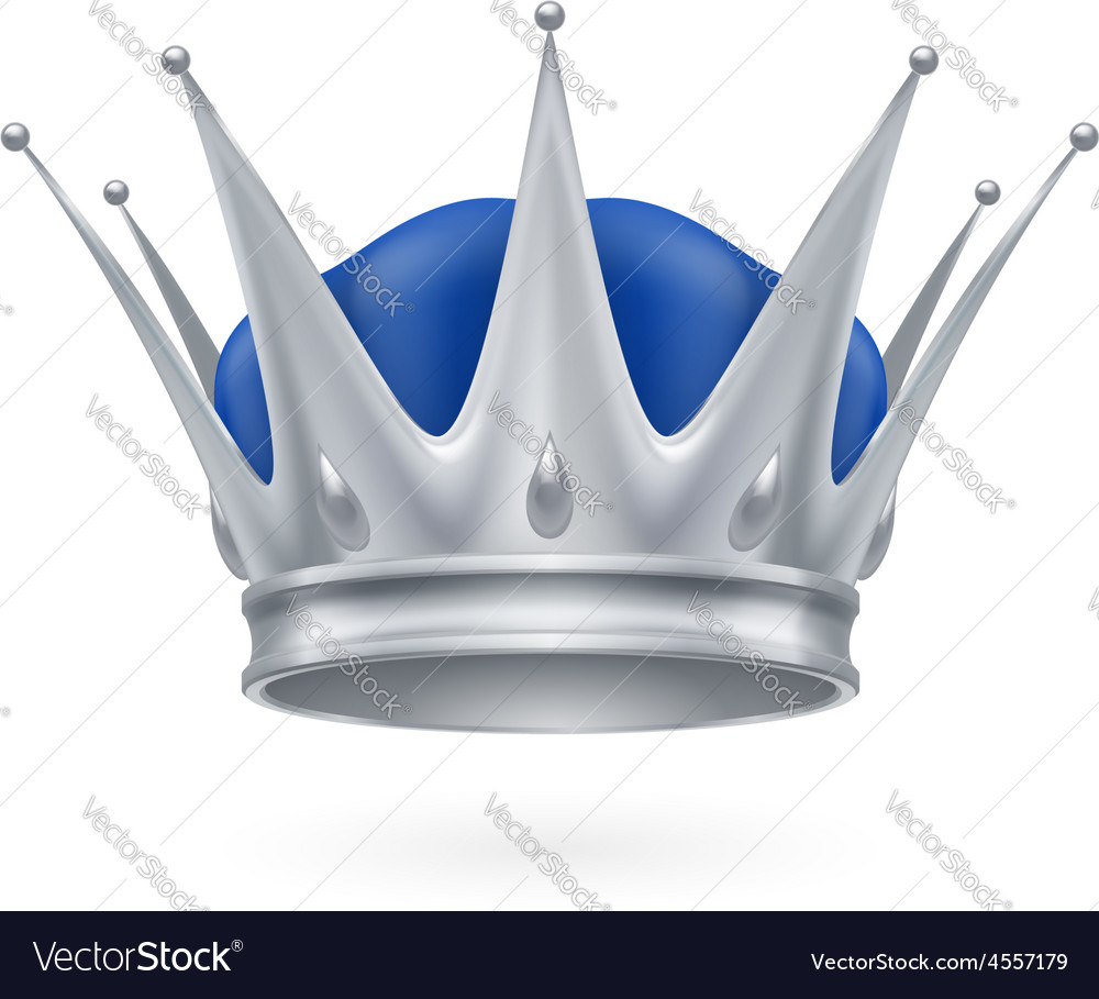 Silver crown vector   Price: 1 Credit (USD $1)