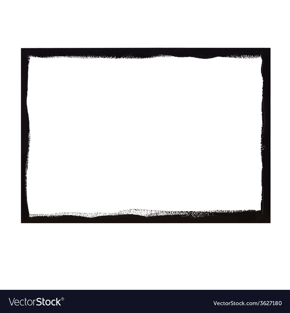 Black grunge frame vector | Price: 1 Credit (USD $1)
