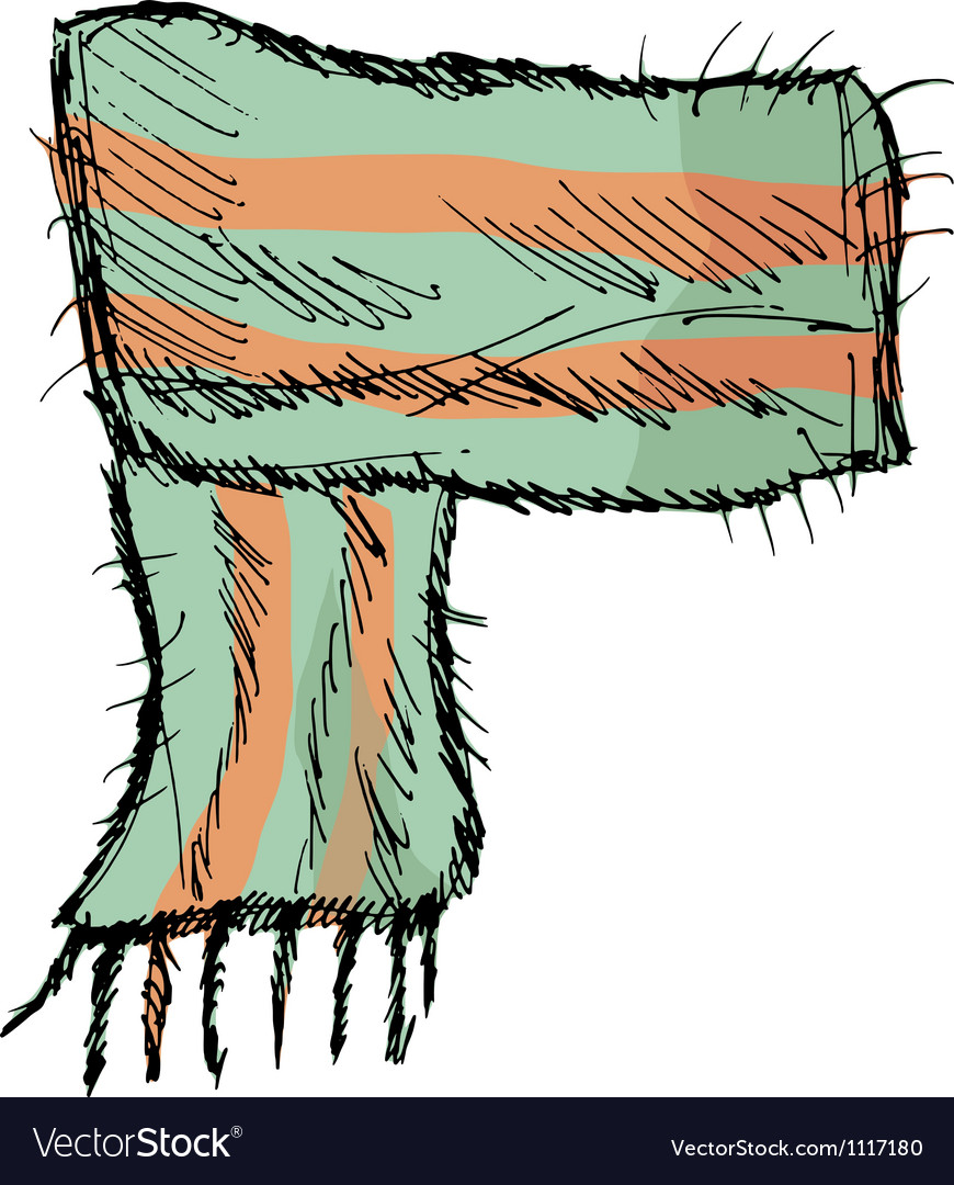 Scarf vector | Price: 1 Credit (USD $1)