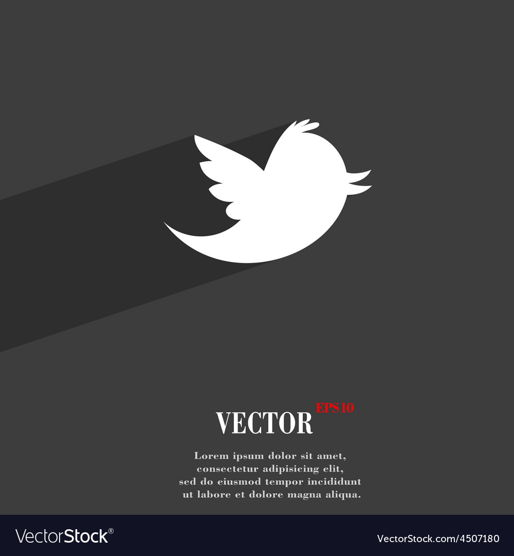 Social media messages twitter retweet icon symbol vector | Price: 1 Credit (USD $1)