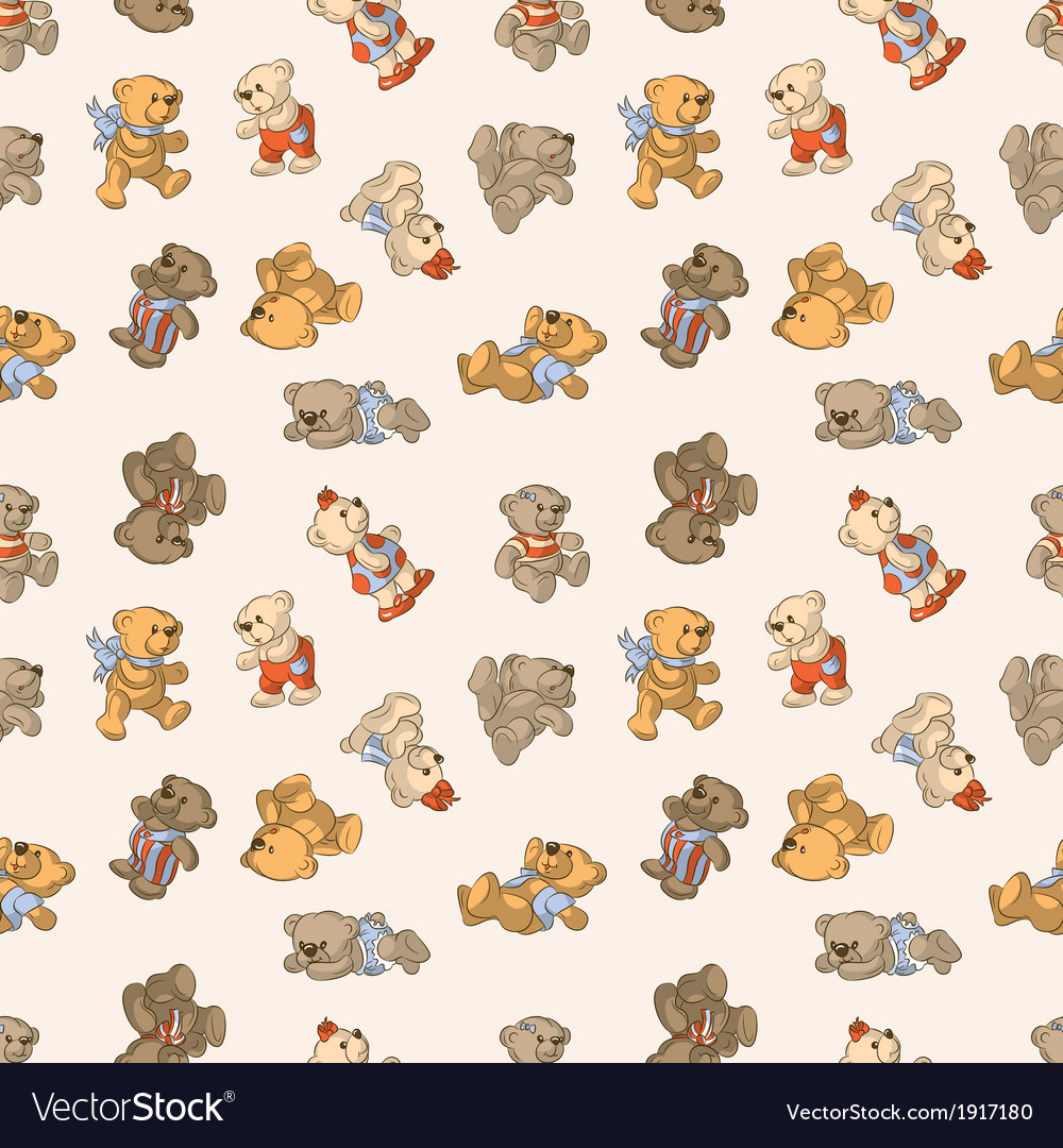 Teddy bears vector | Price: 1 Credit (USD $1)
